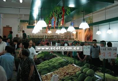 广告语_蔬菜店装修设计效果图-中国店网