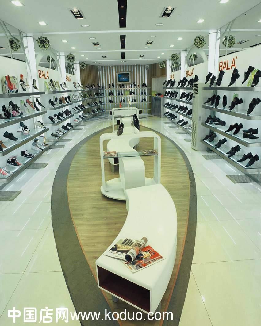 设计效果 图   品牌鞋店装修装潢 设计 - 鞋店装修设计效果