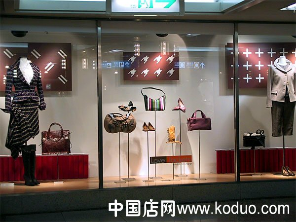 包包店橱窗装修设计