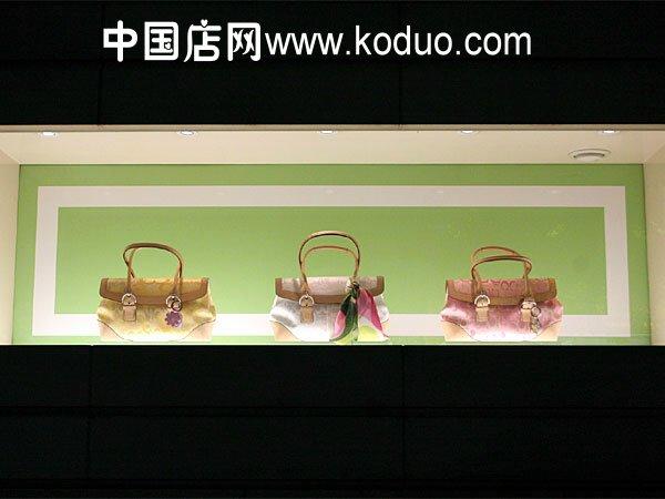 时尚 包店 包 包店橱窗装修 设计效果图 中国店