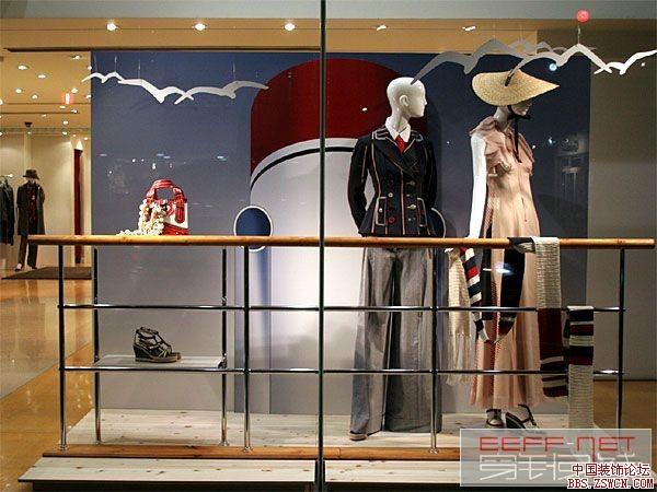 服装店展示设计效果图欣赏2;;