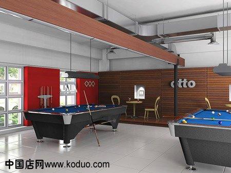 台球厅, 台球室 ,桌球 室装修效果 图   台球室装修图片-温