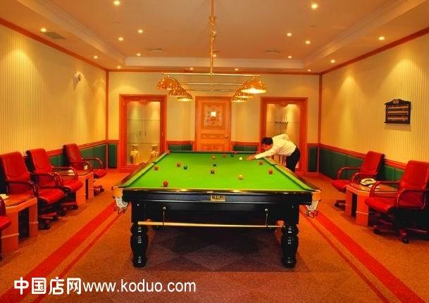效果图设计图__室内设计   台球厅, 台球室 ,桌球室装修 效