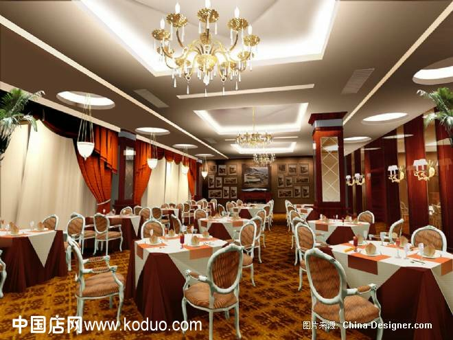 西餐店_西餐厅、西餐店装修设计效果图(一)-中国店网