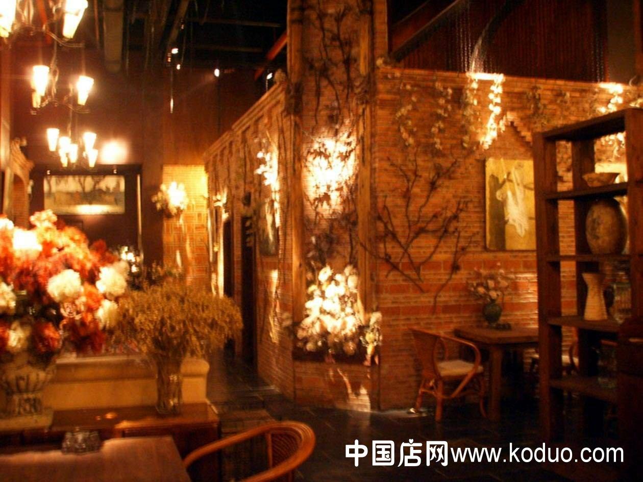 西餐店_西餐厅、西餐馆装修设计效果图(二)-中国店网