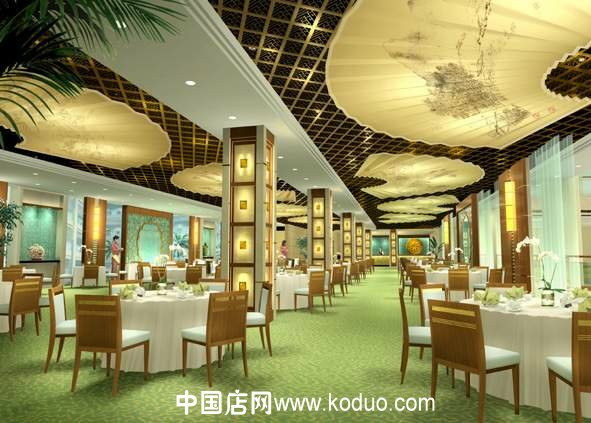 饭店,餐厅,餐馆装修设计效果图(一)