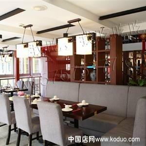 茶餐厅,茶餐吧装修设计效果图(一)