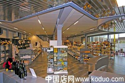 蜂蜜店,蜂产品专卖店装修设计效果图