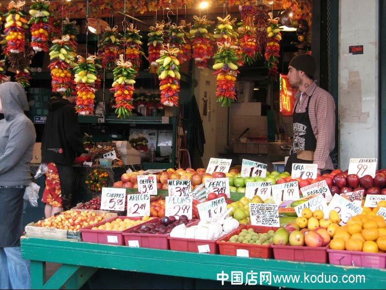 精彩的广告语_水果店、水果超市装修设计效果图(二)-中国店网