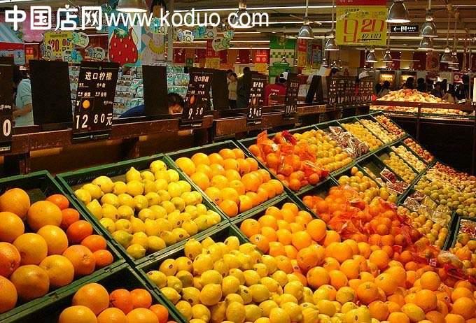 水果店,水果超市装修设计效果图(二)