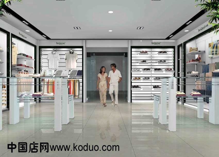 男装店 男士服装店装修设计效果图 二 中国店