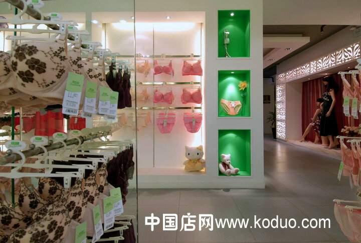精彩的广告语_内衣店装修设计效果图展示(一)-中国店网