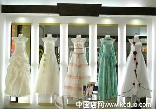 婚纱店 婚纱礼服店装修设计效果图 二 中国店