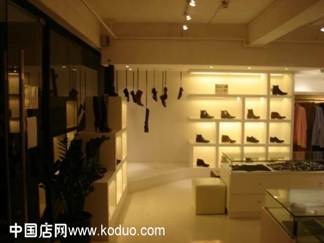 装饰装修设计合同_鞋店装修设计效果图(一)-中国店网
