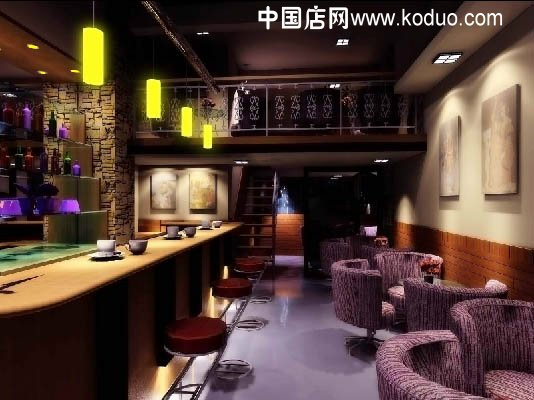 咖啡店,咖啡馆装修设计效果图(二)