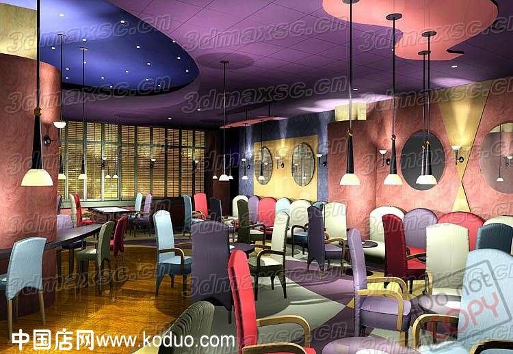 西餐厅,西餐店装修设计效果图(一)