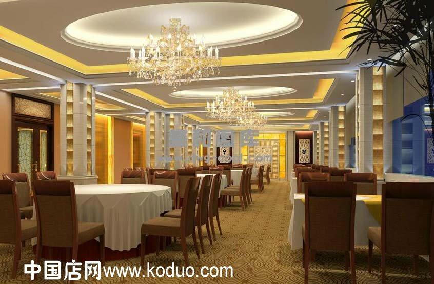西餐廳,西餐館裝修設計效果圖(二)-中國店網