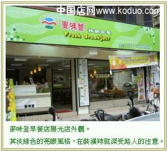 早餐店,早点店装修设计效果图(一)