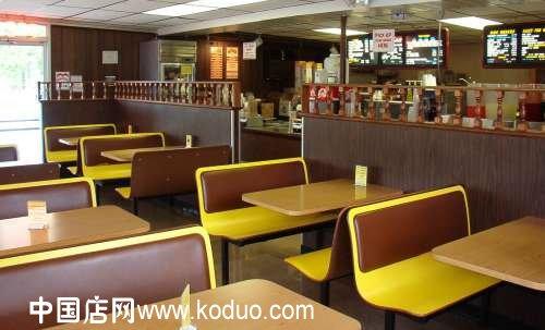 快餐店,快餐厅装修设计效果图(二)