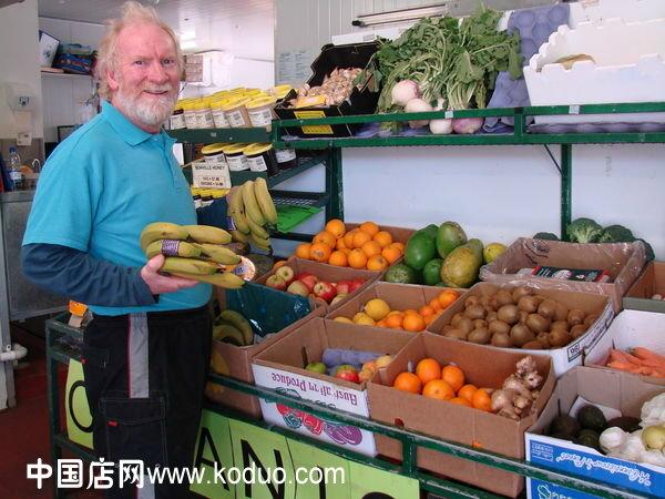 蔬菜店 蔬菜超市装修设计效果图