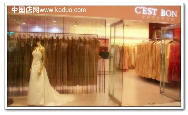 婚纱店,婚纱礼服店装修设计效果图