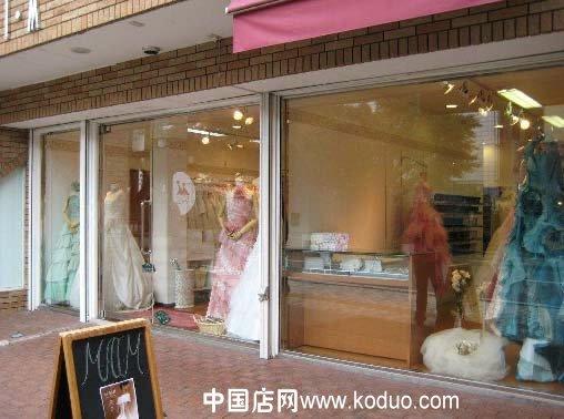 婚纱店,婚纱礼服店装修设计效果图(二)