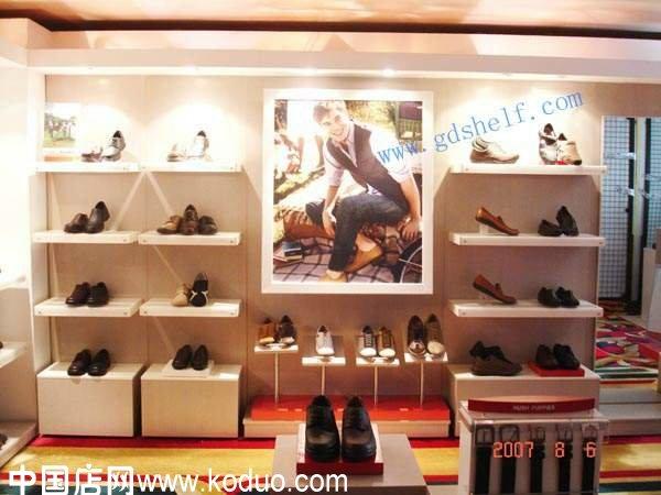 鞋店装修设计效果图 一 图片欣赏下载