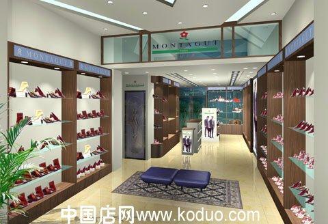 鞋店装修设计效果图图片