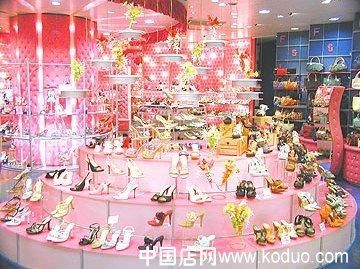 鞋店装修设计效果图(二)