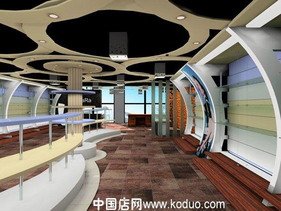150平米鞋店专卖店设计效果图