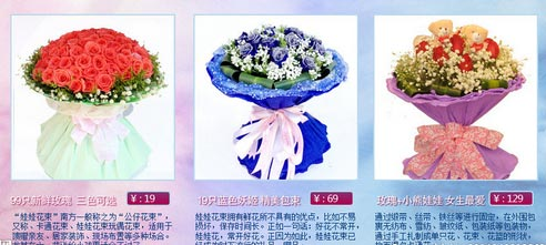 花束包装分组步骤