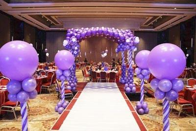 結婚房子氣球造型
