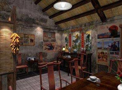 怀旧饭店装修图片